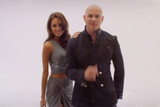 "Pitbull, Enrique Iglesias & A Group Of Scantily-Clad Models: Watch The Duo's ""Messin' Around"" Video"