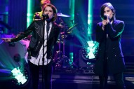 "Tegan And Sara Bring Poised Swagger To ""Boyfriend"" Performance On 'Fallon': Watch"