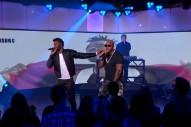 "Flo Rida And Jason Derulo Perform ""Hello Friday"" On 'Kimmel': Watch"