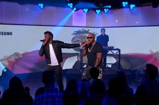 "Flo Rida And Jason Derulo Perform ""Hello Friday"" On 'Kimmel': Watch"