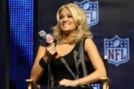 "Carrie Underwood Is Reworking ""Somethin' Bad"" Into New 'Sunday Night Football' Theme"