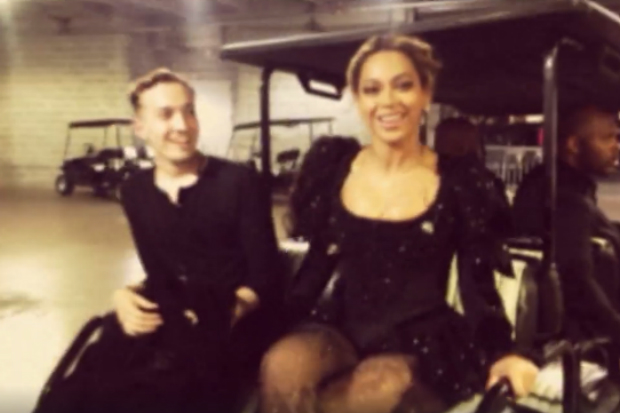 beyonce formation tour video behind the scenes