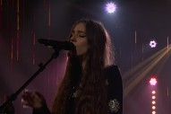 "Birdy Dazzles With ""Keeping Your Head Up"" Performance On The 'Late Late Show': Watch"