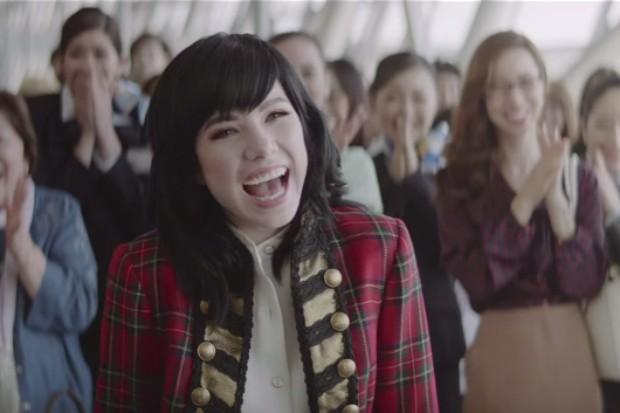 carly rae jepsen japanese commercial shampoo ad