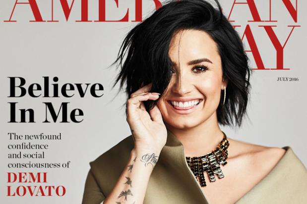 demi lovato american way cover 2016