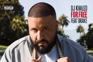 "Drake & DJ Khaled Team Up On ""For Free"": Listen"
