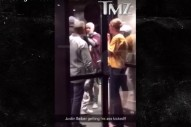 Justin Bieber Got Into A Fight Because The Dude Wanted An Autograph