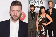 "Lady Antebellum Cover Justin Timberlake's ""Can't Stop The Feeling!"" Live: Watch"