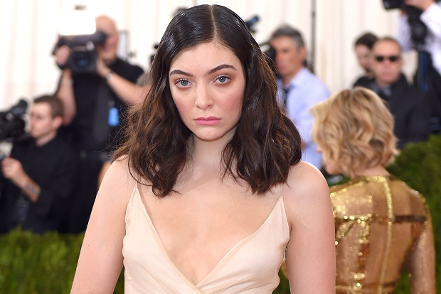 Lorde at the Met