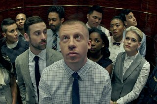 """Macklemore & Ryan Lewis Perform An Office Remix Of """"Dance Off"""" On 'Fallon': Watch"""