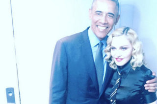 Madonna And President Obama On The 'Tonight Show': See Another Backstage Pic