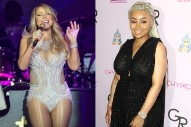 "Mariah Carey Joined By Blac Chyna For ""Touch My Body"" In Las Vegas: Watch"