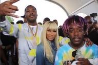 """Meek Mill, Nicki Minaj & Lil Uzi Vert Team Up For """"Froze"""": Hear A Snippet"""