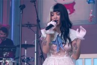 "Melanie Martinez Throws A ""Pity Party"" On 'Jimmy Kimmel Live'"