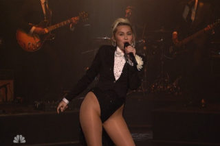 Watch Miley Cyrus Perform On 'Maya & Marty' Premiere