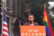 "Nick Jonas Addresses Orlando At Stonewall Inn Vigil In New York City: ""My Heart Broke"""