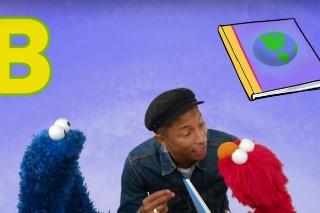 Pharrell Williams Sings About Loving Books On 'Sesame Street': Watch