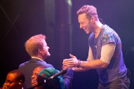 Prince Harry Joins Coldplay On Stage At Kensington Palace Concert: Watch