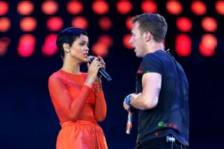 "Chris Martin Calls Rihanna ""The Frank Sinatra Of Our Generation"""