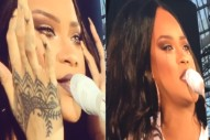 "Rihanna Breaks Down In Tears During ""Love The Way You Lie"" In Dublin: Watch"