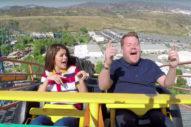 Selena Gomez And James Corden Ride A Roller Coaster For Carpool Karaoke: Watch
