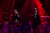 "Tegan And Sara Perform ""Boyfriend"" On 'The Late Late Show': Watch"