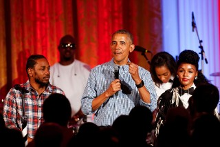 Watch Kendrick Lamar & Janelle Monáe Perform At White House BBQ