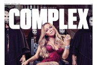 Mariah Carey Talks Prince In Her 'Complex' Cover Story