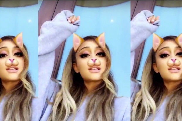 ariana-grande-fallon-into-you-snapchat