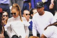 Beyoncé & Jay Z Support Serena Williams At Wimbledon: Watch