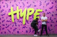 "Dizzee Rascal Gets ""Hype"" With Calvin Harris In Colorful New Video: Watch"