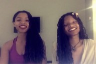 "Watch Chloe x Halle Cover Desiigner's ""Tiimmy Turner"""