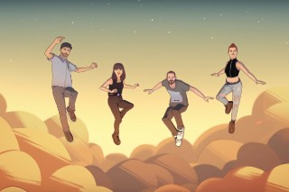 """Chvrches And Hayley Williams Have Telekinetic Powers In Animated Video For """"Bury It"""": Watch"""