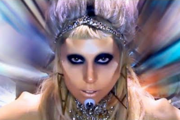 gaga born this way video face