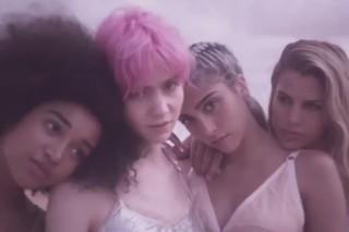 "Grimes & Her 'Art Angels' Track ""Venus Fly"" In Stella McCartney Fragrance Ad: Watch"