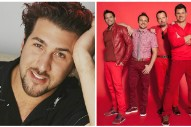 "Joey Fatone Performs ""Bye Bye Bye"" With 98 Degrees: Watch"