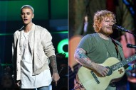 "Ed Sheeran Says ""Love Yourself"" Was A 'Divide' Reject That Justin Bieber Rescued"