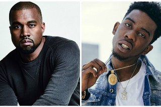 Kanye West And Desiigner Rap 'TLOP' Tracks In The Hamptons