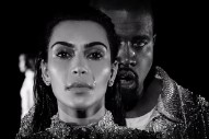 "Watch Kanye & Kim Bawl In Balmain In ""Wolves"" Video"