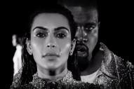 "Watch Kanye & Kim Bawl In Balmain In ""Wolves"" Video"
