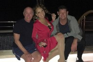 Mariah Carey Partied On A Yacht Off Capri With David Geffen & James Packer On The 4th Of July