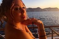 Mariah Carey's Sexy Italian Boat Trip: 7 Festive Lingerie Pics