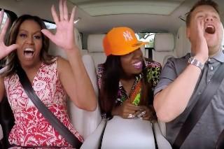 Missy Elliott Joins Michelle Obama And James Corden For Carpool Karaoke: Watch