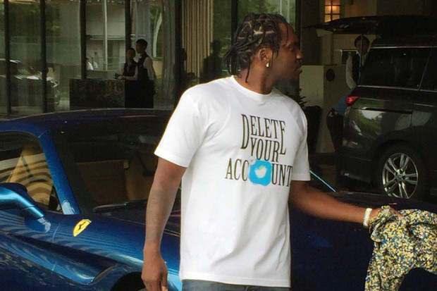 pusha t hillary trump shirt delete your account