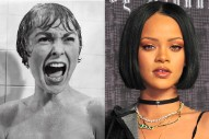 Rihanna Photographed On The Set Of 'Bates Motel': See Her As Marion Crane
