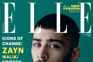 See Zayn Malik's 'Elle' UK Photos (Yes, It's The Issue Kristen Stewart Kind Of Comes Out In)