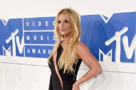 MTV Video Music Awards 2016: Britney Spears Rocks A Sleek Little Black Dress