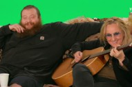 Here's Action Bronson Freestyling With Melissa Etheridge In Front Of A Green Screen