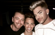 Adam Lambert & Sam Smith Hang In Mykonos