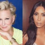 Kim Kardashian Takes On Bette Midler
